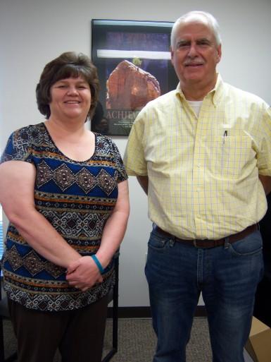 Keri McCrorey and Bill Bunch